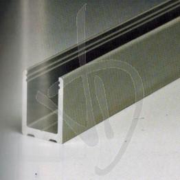 """Profilo ad """"U"""" in alluminio"""