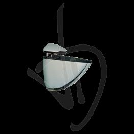Reggimensola per carichi medi, Misure 90/120xP105mm, Spessore vetro 2-32 mm