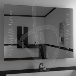 Specchio da parete, con decoro A032