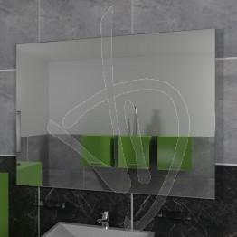Specchio su misura, con pannello posteriore da appendere