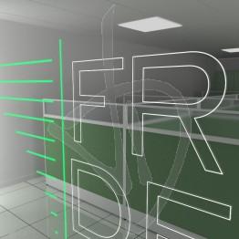 spiegelschild-mit-beleuchtetem-logo-und-in-holz-verschiedenen-ausfuehrungen-abgedeckt-rahmen