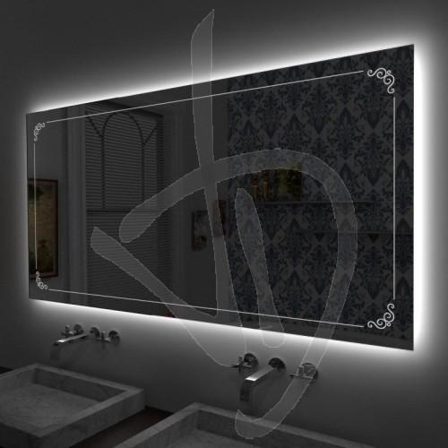 mesure-miroir-avec-b023-de-decor-grave-et-eclaire-et-retro-eclairage-led