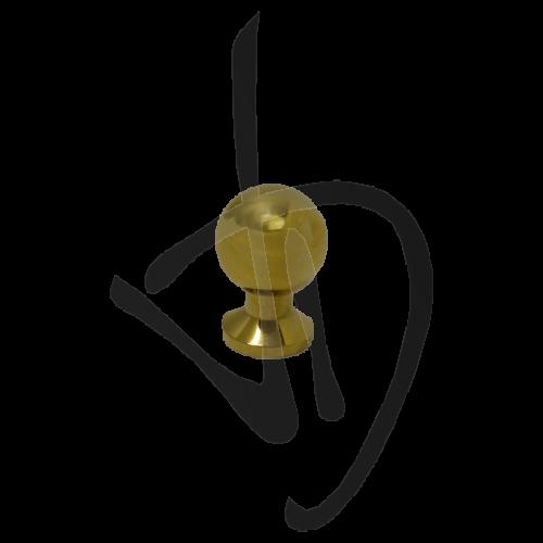 bouton-spherique-en-laiton-poli-d23-l35