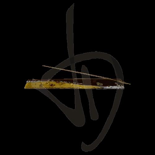 porte-encens-en-verre-de-murano-couleur-bronze-fait-main
