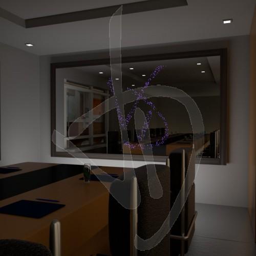 miroir-avec-logo-eclaire-et-cadre-en-bois-recouvert-diverses-finitions