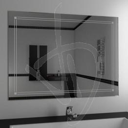 Specchio su misura, con decoro B021
