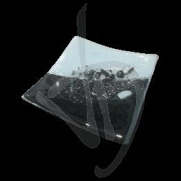 centre-de-table-en-verre-de-murano-noir-et-blanc-fait-main