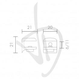 tablette-pour-des-charges-legeres-des-mesures-21xp21mm-epaisseur-de-verre-6-11-mm