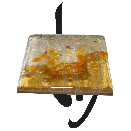 photophore-en-verre-de-murano-couleur-ambre-fait-main