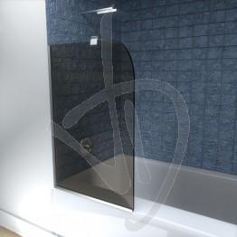 Vetro sopravasca, su misura, in vetro trasparente bronzato
