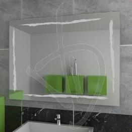 Specchio grande, con decoro A036