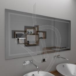 Specchio da parete, con decoro B020