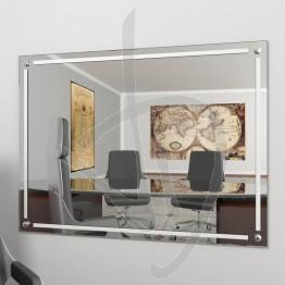 Specchio online, con borchie e decoro B018